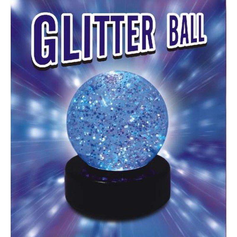 Glitter Ball LED Lampe Farbwe
