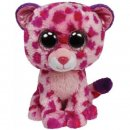 Glamour-Leopard pink,ca. 15cm