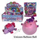 Einhorn Fun Ballon Ball