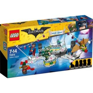 The LEGO Batman MovieTThe Justice LeagueT Anniversary Party