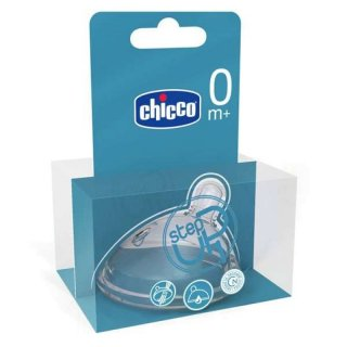 Chicco Flaschensauger Sauger Step Up 1 Silikon 1 Loch Normal +0M