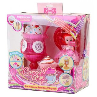 34659 Cupcake Surprise Spielset Ice Cream