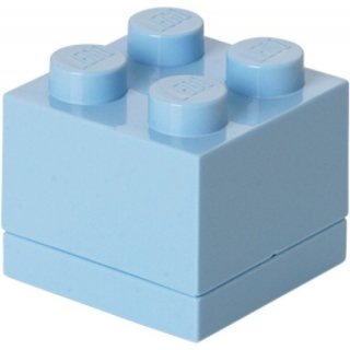 Lego Mini Box hellroyalblau