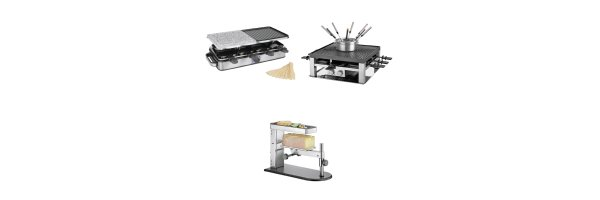 Raclette, R-Grills, Party-Grills