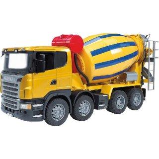 Bruder Scania R-Serie Betonmisch-LKW