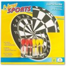 Dartboard NEW SPORTS, inkl. 6