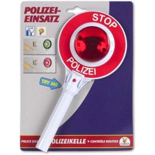 CL City Line Polizeikelle mit 2 LED-Lichter