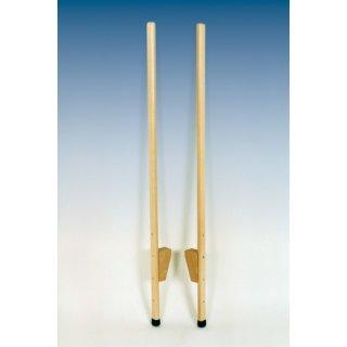 Stelzen aus Holz 150cm, verst