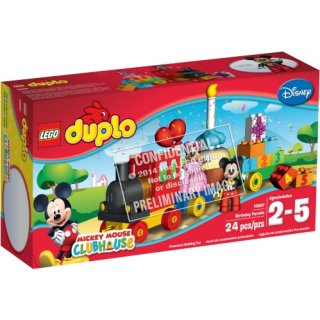 Duplo-Mickey & Minnie Geburtstagsparad