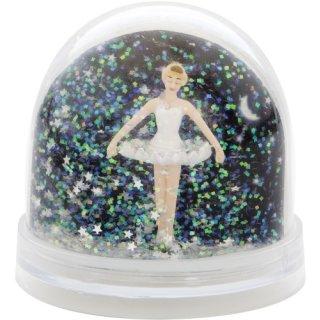 Schneekugel Sterne Photo Ballerina Swa