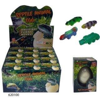 Wachsendes Reptil im Ei