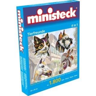 Minist. Tierfreunde 4in1 1.600 Teile