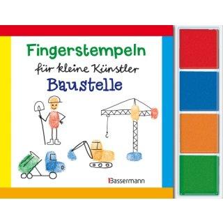 Fingerstempeln Baustelle-Set       06/