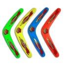 Bumerang sortiert - 4 farbig sortiert ca 30 cm