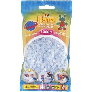 HAMA Perlen leuchtblau 1.000Stück
