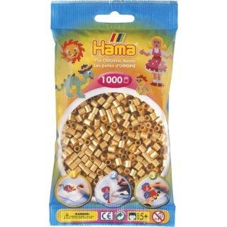 HAMA Perlen gold 1.000 Stück