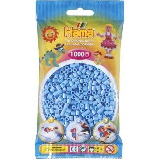 HAMA Perlen pastell Blau 1.000 Stück