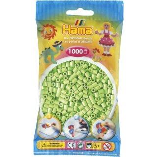 HAMA Perlen pastell grün 1.000Stück