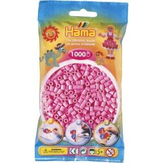 HAMA Perlen pastell pink 1.000Stück
