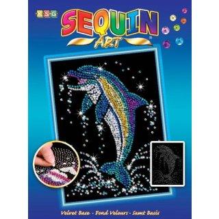 Sequin Art Delfin