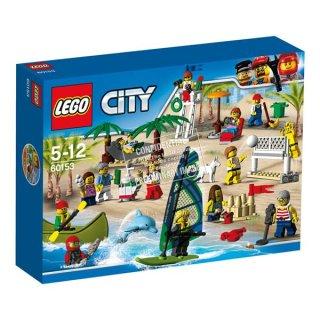 Lego 60153 City Stadtbewohner - Ein Tag am Strand