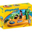 Playmobil Playmobil 1.2.3 Pirateninsel (9119)