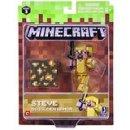 Jazwares Minecraft - Steve mit Goldrüstung mit...