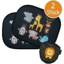 Auto-Sonnenschutzblenden mit Tierbaby-Motiv (2er-Pack...