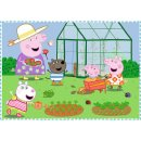 4 in 1 Puzzle # Peppa Pig