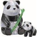 3D Crystal Puzzle Pandapaar 51 Teile