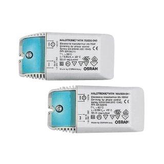 OSRAM Halotronic Kompakt Transformator 70 Watt 108x52x33mm