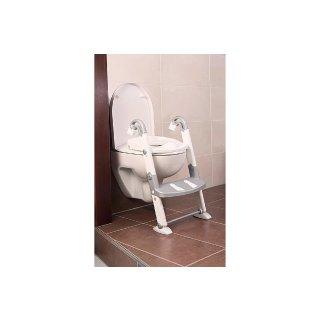 KidsKit Toilettentrainer silber- weiß