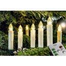 F-H-S LED Baumkerze 10 Kerzen kabellos mit FB incl....