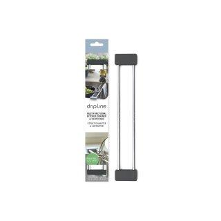 BRAINSTREAM Spültuchhalter & Abtropfer Drip.line grau