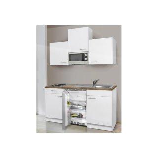 Eco-Küchenblock 150cm weiß