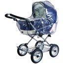 Regenverdeck für Kinderwagen, extra groß