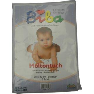 BIERBAUM Molton Tuch, 2 er Pack