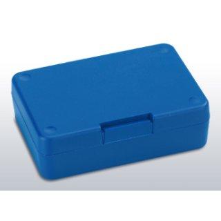 Brotzeitbox-Kunstst. rot-blau sort. Pausebox