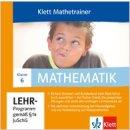 Lernbox Mathematik Klett Mathetrainer 6. Klasse