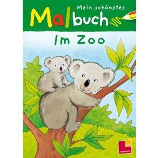 M.schoenstes Malbuch.Im Zoo