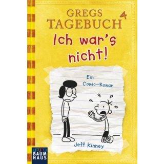 Gregs Tagebuch 4 - Ich war´s nicht TB