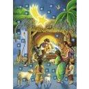 Adventskalender: Heilige Nacht [Taschenbuch]