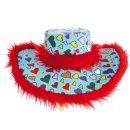 Flowerpower Hut mit Herzen