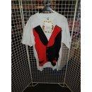 Erwachsenen-Kostüm Harlekin Clown Shirt XXL
