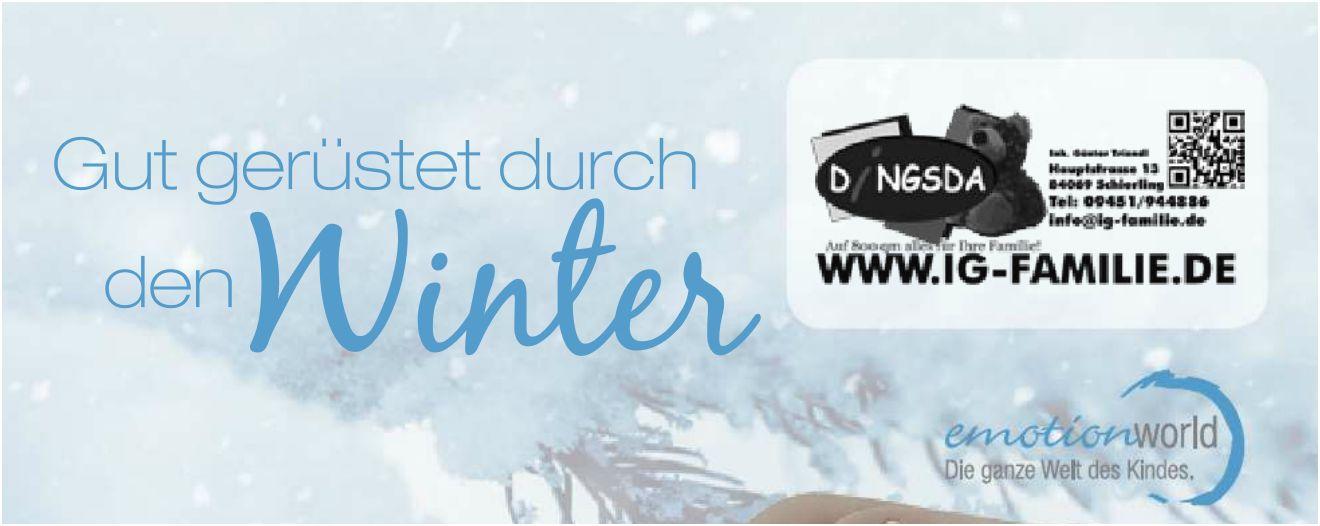 Ab in den Winter