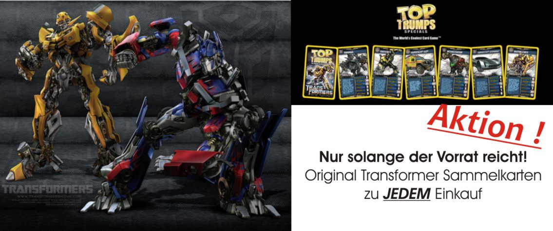 Transformer Gratis Top Trumps
